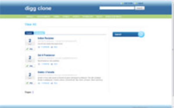 Product picture phpDug Digg Clone Template